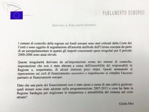 Le mie domande ai geni dell'amministrazione locale sulla gestione dei Fondi europei