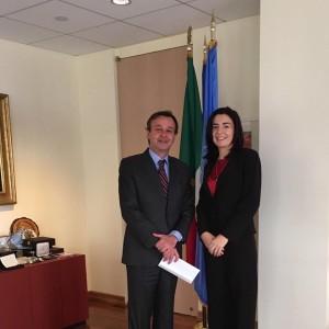New York: incontro con l'Ambasciatore Sebastiano Cardi, Rappresentante Permanente dell'Italia presso le Nazioni Unite
