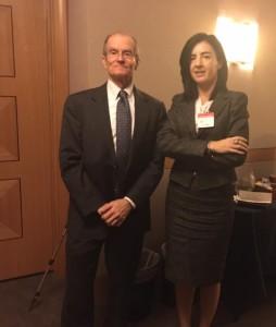 Insieme all'Ambasciatore Daniel Fried, Coordinatore per le policy sulle sanzioni al Dipartimento di Stato americano